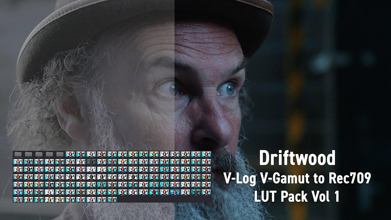 Driftwood V-Log LUT Pack v1